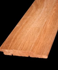 Halfhoutrabat Aziatisch Red Cedar volhout groef