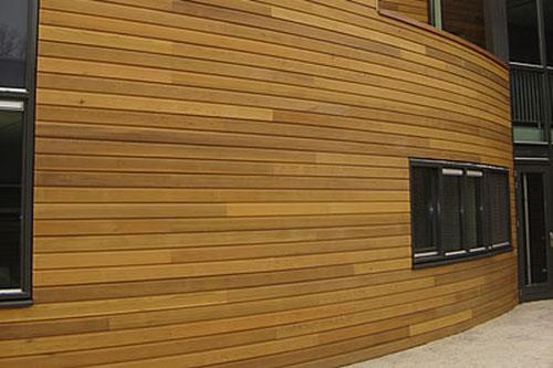 Halfhoutrabat Western Red Cedar tcb gevel