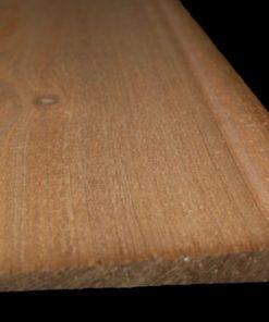 Potdeksel Zweeds rabat western red cedar stk