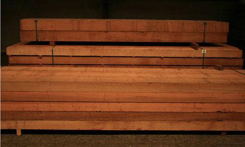 Western Red Cedar massief bundel