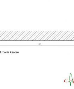 Boeideel 18x185