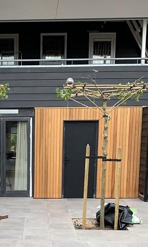 Rhombus 18x92 open gevel western red cedar